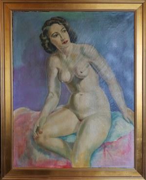 Malarz nieokreślony, XX w., Akt kobiecy