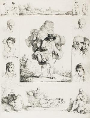 Michał PŁOŃSKI (1778-1812), Koszykarz, 1805