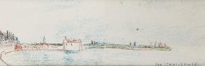 Jan STANISŁAWSKI (1860-1907), Zatoka - rysunki ze szkicownika artysty