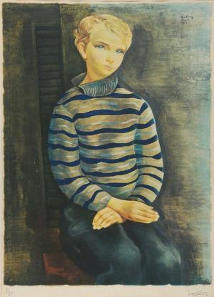 Mojżesz KISLING (1891-1953), Portret chłopca