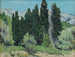 Henryk EPSTEIN (1890-1944), Pejzaż, 1912