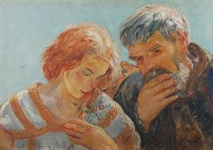 Wlastimil HOFMAN (1881-1970), Przeszłość i przyszłość, 1923
