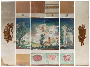 Tadeusz GRONOWSKI (1894-1990), Arkadia - projekty panneaux dekoracyjnych - malowideł ściennych