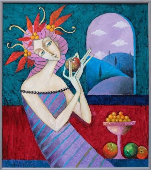 Jan Bonawentura Ostrowski, Dziewczyna z jabłkiem, 2020