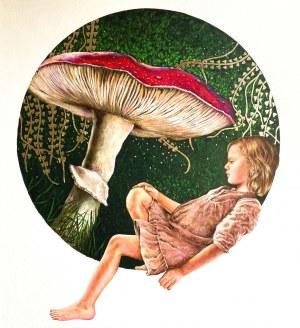 Joanna Czajkowska, Dziewczynka z muchomorem, 2020