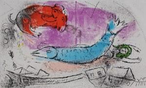 Marc Chagall (1887-1985) Niebieska ryba