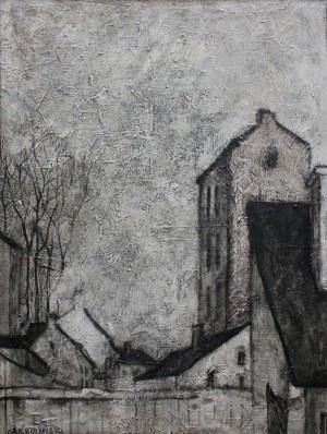 Wiesław Garboliński (1927-2014) Pejzaż miejski zimą