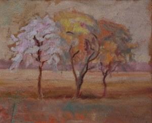 Emil Krcha (1894-1972) Kwitnące drzewa