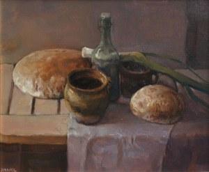 Józef Panfil (ur.1958) Martwa natura z porem