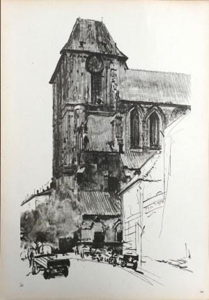 Leon Wyczółkowski, Plansza VIII. Kościół Św. Jana w Toruniu - reprodukcja z teki