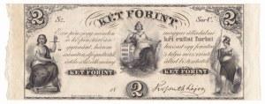 Hungary 2 Forint 1852