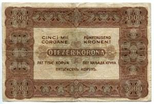 Hungary 5000 Korona 1920