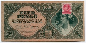 Hungary 1000 Pengö 1945