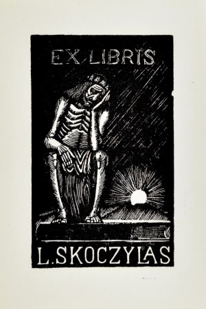 Władysław SKOCZYLAS (1883-1934), Exlibris Ludwika Skoczylasa, 1930