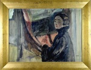 ANERI Irena Weissowa (1888-1981), Portret własny, ok. 1910