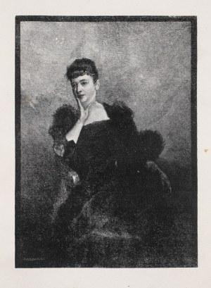 Józef HOLEWIŃSKI (1848-1917), Portret damy