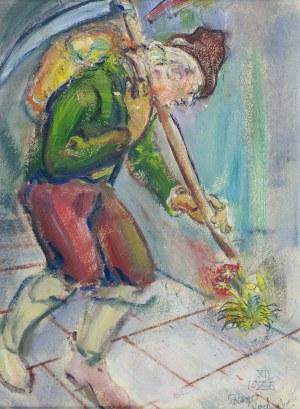 Kasper POCHWALSKI (1899-1971), Trudność, 1945