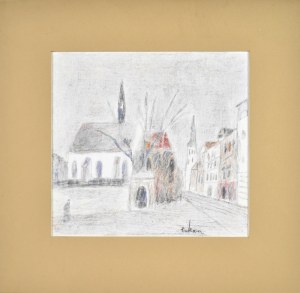 Eugeniusz TUKAN - WOLSKI (1928-2014), Rynek miejski