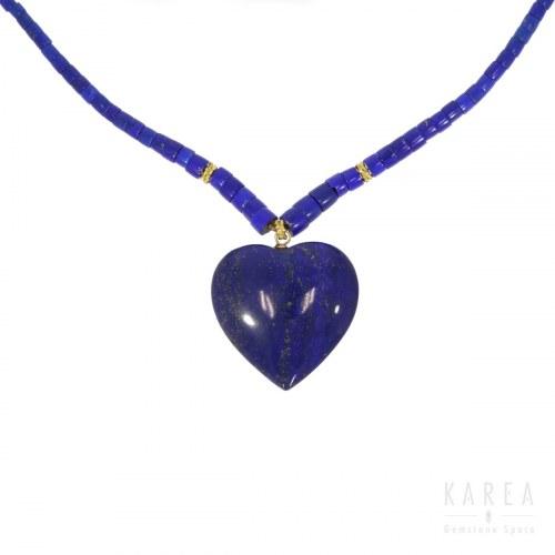 Naszyjnik lapis lazuli