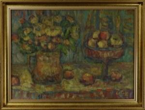 Zofia LATEK (ur. 1951), Martwa natura z kwiatami