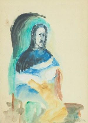 Leonard PĘKALSKI (1896-1944) - przypisywany, Siedzący mężczyzna