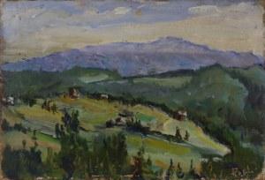 Zbigniew PIECZYŃSKI, XX w., Pejzaż podgórski