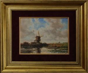 Autor nieokreślony, XX w. wg. Elias Pieter van BOMMEL (1819-1890), Pejzaż