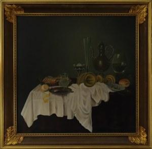 Eugeniusz GAWROŃSKI, XX w., wg. Willem Claesz HEDA (1594-1680), Śniadanie