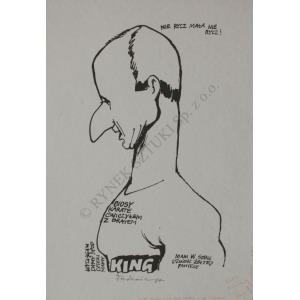 Jacek Fedorowicz, King-Karykatura Piotra Fronczewskiego (1984)