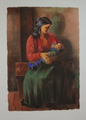 Mojżesz Kisling (1891-1953), Macierzyństwo (1952)