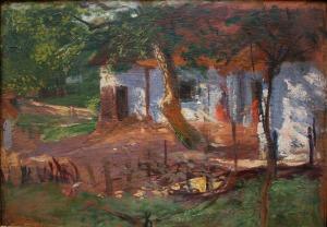 Włodzimierz Tetmajer (1862-1923), Przed chałupą w Bronowicach