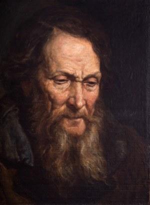 Franciszek Streitt (1839 Brody – 1890 Monachium), Portret mężczyzny, 1867 r.