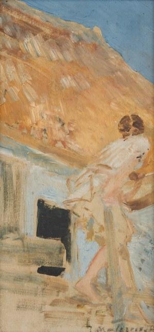 Jacek Malczewski (1854 Radom - 1929 Kraków), W zaścianku, ok. 1914 r.