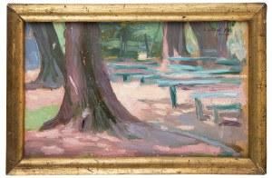 Leopold Gottlieb (1883 Drohobycz - 1934 Paryż), W parku, ok. 1904 r.