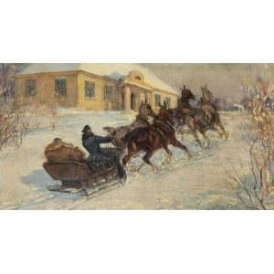 Jan Erazm Kotowski (1885 Opatkowiczki k. Pińczowa - 1960 Milanówek), Powrót do dworu