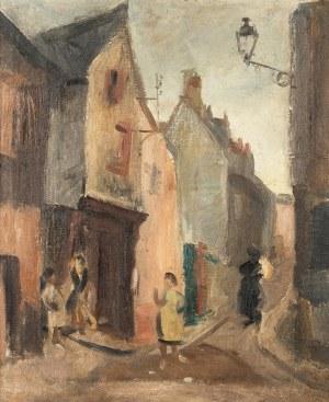 Jan Golus (1895-1964), Pejzaż miejski - motyw z Dolnego Śląska, 1948 r.
