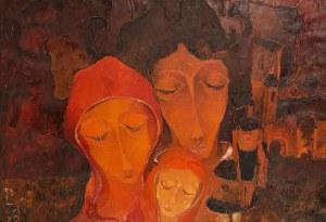 Ryszard Zając (1929 Kosów Huculski - 2016 Binningen k. Bazylei), Kompozycja TRÓJCA, 1972 r.