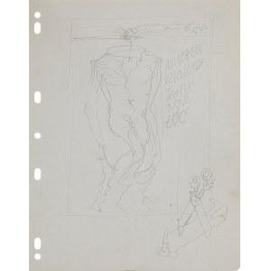 Franciszek Starowieyski (1930-2009), Bez tytułu - projekt plakatu do spektaklu teatralnego