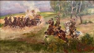 Jerzy Kossak, ''Szturm artylerii konnej''