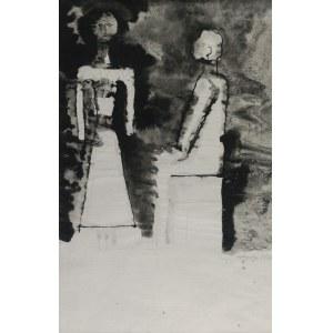Jan LEBENSTEIN (1930-1999), Figury, 1957-1958