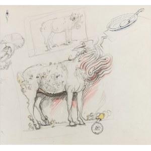 Franciszek STAROWIEYSKI (1930-2009), Szkice postaci zoomorficznych