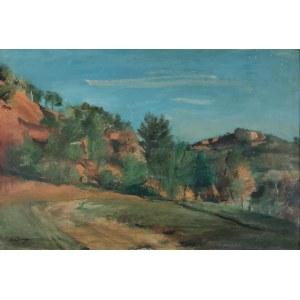 Henryk HAYDEN (1883-1970), Okolice Roussillon (Vaucluse)