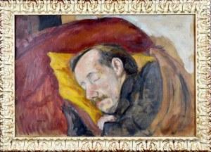 ANERI Irena Weissowa (1888-1981), Śpiący Wojciech Weiss, ok. 1930