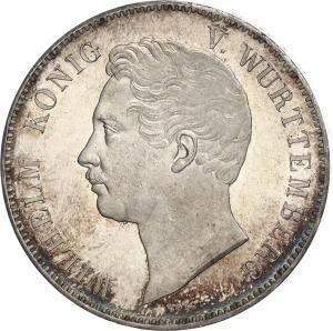Württemberg, Wilhelm I, Doppeltaler 1846