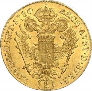 Josef II, Doppeldukat 1786 A
