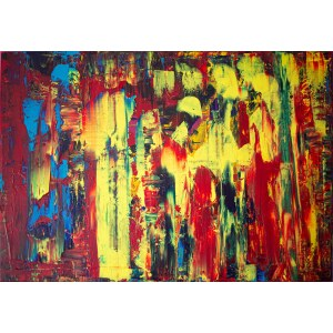 Dominik Smolik (ur. 1982), An Abstract Art Space, 2021