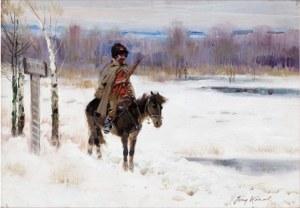 Jerzy Kossak, Bolszewik na patrolu