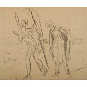 Wlastimil Hofman (1881-1970), Tobiasz z aniołem