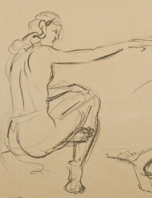 Wlastimil Hofman (1881-1970), Kobieta z młodzieńcami