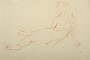 Wlastimil Hofman (1881-1970), Półakt dziewczęcy
